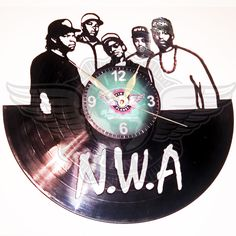 Vinyl Wall Clock N.W.A