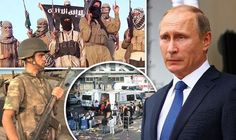 Russia wants coalition with Turkey to crush ISIS, as Putin strengthens attack in Syria