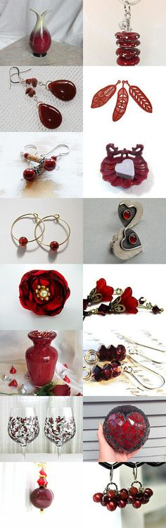 Marsala - Pantone's Color of the Year by Allison and Sheryl on Etsy--Pinned with TreasuryPin.com http://etsy.me/17Kvlyf @Etsy #red #art #jewelry #homedecor #shopping #trends #jewellery #fashion #design #style
