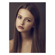 Kristina Romanova / Model Love ❤ liked on Polyvore