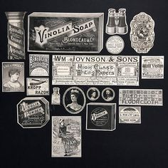 a4c1d15bbeb9b RESERVED for V 1860-1880 BANANASTRUDEL INGREDIENTS - 19-pc. Assorted 6 x  9.5. Probably the Best Collage Ephemera Pack. Junk Journal   Art