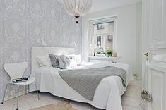 El encantador resultado del papel pintado   Decorar tu casa es facilisimo.com