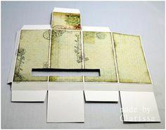 Tea Bag Dispenser Tutorial cut for larger opening