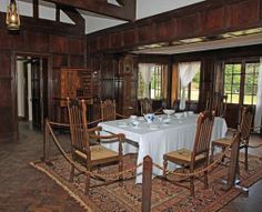 'Out of Africa' revisited: the Karen Blixen Museum in Kenya Work In Africa, Out Of Africa, Kenya, Finch Hatton, Karen Blixen, Campaign Furniture, British Colonial Style, Camping Set, In And Out Movie
