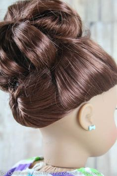 A Hairstyle with Fun Details from Every Side — Doll Diaries