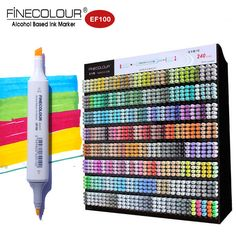 Finecolour 240 Twin Graphic Sketch Marker Fine Color EF100 Alcohol Drawing Markers Architecture/Manga Caneta Pen For Kid/Artist |  Compare Best Price for Finecolour 240 Twin Graphic Sketch Marker Fine color EF100 Alcohol Drawing Markers Architecture/Manga Caneta Pen for Kid/Artist product. This shopping online sellers provide the best deals of finest and low cost which integrated super save shipping for Finecolour 240 Twin Graphic Sketch Marker Fine color EF100 Alcohol Drawing Markers…