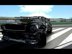 Assetto Corsa - 1965 Ford Mustang ( Ken Block  Drift ) - Vallelunga Club