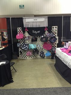 Booth setup for thirty-one! General Assembly 2013