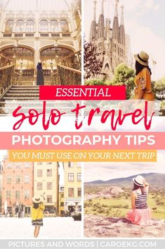 Do You Want Worldwide Vehicle Coverage? Wondering How To Take Photos Of Yourself While Traveling Alone? Pursue These Easy Travel Photography Tips To Take Amazing Travel Self-Portraits This Travel Photography Guide Is A Must-Read Before Your Next Solo Trip Solo Travel Tips, Travel Goals, Travel Advice, Travel Guides, Travel Info, Travel Channel, Travel Bag, Travel Checklist, Travel Photography Tumblr
