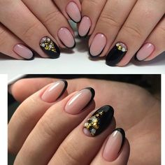 Accurate nails, Beautiful nails 2017, Delicate christmas nails, Evening dress nails, Evening nails, Evening nails by gel polish, French manicure, Ideas of evening nails