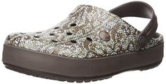 Crocs Unisex Crocband Cable Knit Clog Mule Iconic comfort croslite material base Fit suggestion for size recommended to size up Fully molded croslite Cable knit pattern detail Lightweight Women's Mules & Clogs, Crocs Crocband, Us Man, Unisex, Knit Patterns, Cable Knit, Espresso, Wedges, Knitting