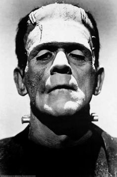 Frankenstein Monster Illustration - Boris Karloff Horror Film Movie Pop Art Home Decor in Poster Print or Canvas Boris Karloff Frankenstein, Frankenstein 1931, Frankenstein Tattoo, Frankenstein Halloween, Mary Shelley Frankenstein, Horror Vintage, Retro Horror, Gothic Horror, Horror Icons