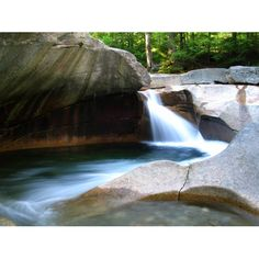 The Basin, Franconia Notch State Park, White Mountain National Forest, New Hampshire.