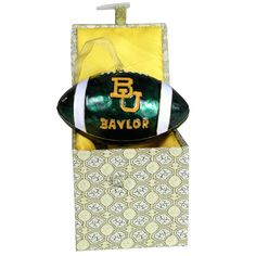 University - Baylor Football Ornament
