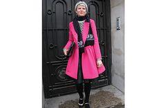 Sigue el color. Ahora combinado con tejidos nórdicos. Foto: Agustina Garay Schang (desde París)