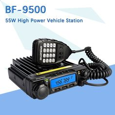 Baofeng BF-9500 UHF 400-470MHz transmisor-receptor de 200CH CTCSS / DCS / DTMF, radio del vehículo móvil del coche 50W / 25W / 10W Car Station, Rf Connector, Two Way Radio, Power Cable, Walkie Talkie, Vehicles, Radios, Rolling Stock, Vehicle