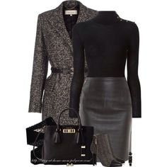 Classical style for winter chic