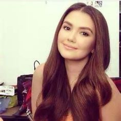 ANGELICA PANGANIBAN is a Filipino film and television actress and product endorser. She is a member of ABS-CBN's elite circle of homegrown talents named, Star Magic. Born in November Filipina Beauty, Star Magic, Hair Makeup, Hair Beauty, Actresses, Long Hair Styles, Pretty, Beautiful, Faces