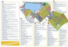 plattegrond klein strand - Accommodaties - Klein Strand landingspagina