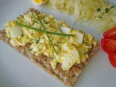 Fettarmer Eiersalat ohne Mayonnaise, ein sehr schönes Rezept aus der Kategorie Eier & Käse. Bewertungen: 159. Durchschnitt: Ø 4,2.