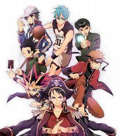 Tags: Anime, Yu-Gi-Oh!, Prince of Tennis, NARUTO, Echizen Ryoma, Chain, Yami Yugi
