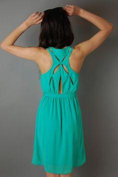 American Threads - Criss Cross Racerback Dress, $44.99 (http://www.shopamericanthreads.com/criss-cross-racerback-dress/)