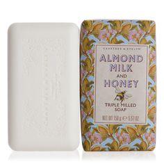 My fav hand soap! Almond Milk & Honey Triple Milled Soap