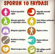 Sporun 10 faydası;