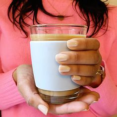 JOCO 12-ounce glass mug - just the right size for an 8-ounce cup of coffee plus creamer