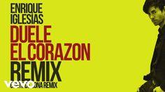 Enrique Iglesias - DUELE EL CORAZON (Remix)[Lyric Video] ft. Gente de Zo...