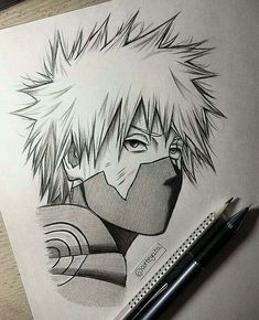 Anime Drawing Ideas Quick Kakashi sketch again(:my school takes all my spare time lately Kakashi Drawing, Naruto Sketch Drawing, Naruto Drawings, Anime Drawings Sketches, Anime Sketch, Manga Drawing, Manga Art, Manga Anime, Anime Naruto