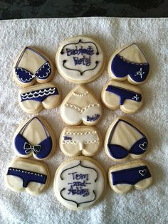 Cute Bachelorette cookies!