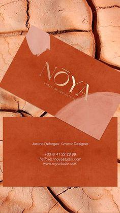 Noya brand identity design by Solène Hermann