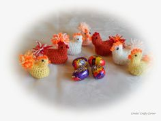 Knitted easter chick containing a creme egg makes a nice easter crochet and knit easter chickens perfect for holding a creme egg free pattern negle Gallery