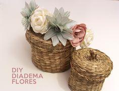 Diy diadema de flores para invitadas originales