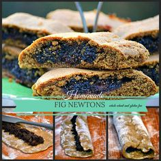 Double the Fun: Homemade Fig Newtons; 2 recipes Gluten Free and Whole Wheat | Pure Grace Farms