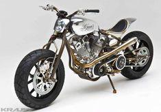 Reconnue dans le monde de la moto custom comme une entreprise innovante, Kraus est devenu l'un des premiers préparateurs au...
