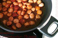 pamelopee: Rezept: schnelle Currywurst-Pfanne (mit Gastrolux)...