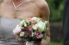 Flower Design Events: Vintage Bridesmaids Bouquet