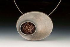Talya Baharal | Oval Nest GF neckpiece