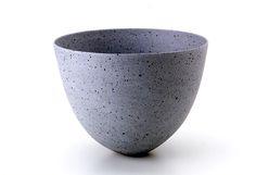 """Speckled blue by Jennifer Lee Ceramic Clay, Porcelain Ceramics, Ceramic Bowls, Ceramic Pottery, Pottery Art, Jennifer Lee, Hand Built Pottery, Japanese Pottery, Modern Ceramics"