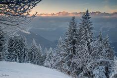 Silence before the Sun strike by Jan Geerk on Switzerland, Sun, Winter, Travel, Outdoor, Beautiful, Winter Time, Outdoors, Viajes