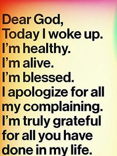♥Thank you God for another day♥