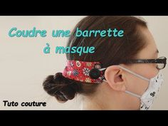 Coin Couture, Couture Sewing, Barrette, Sewing Projects, Hair Styles, Youtube, Blog, Beauty, Diy