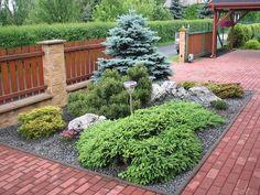 ideas for modern landscape design garden plants Courtyard Landscaping, Small Yard Landscaping, Modern Landscaping, Landscape Design, Garden Design, Deco Restaurant, Garden Makeover, Outdoor Garden Decor, Garden Planning