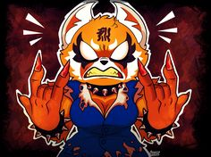 Aggretsuko, the furry from hell by Quelho