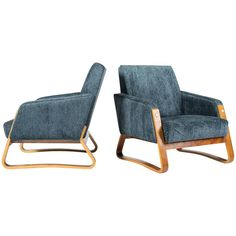 French Deco Armchairs | From a unique collection of antique and modern armchairs at https://www.1stdibs.com/furniture/seating/armchairs/