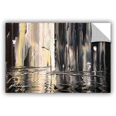 ArtAppealz Milen Tod Mono Removable Wall Art, Size: 24 x 36, White