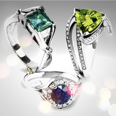 There's nothing like #winter hued #color #gemstones to remind you that #cool is #beautiful.