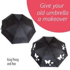 Give Your Old Umbrella a New Look - Easy Peasy and Fun